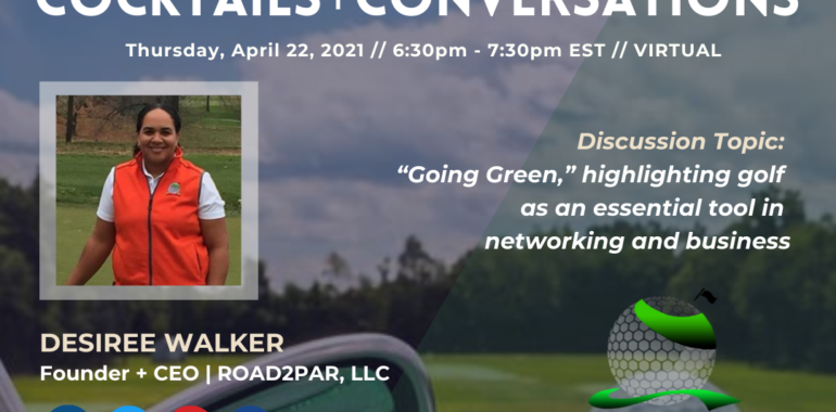 Cocktails & Conversations: Going Green